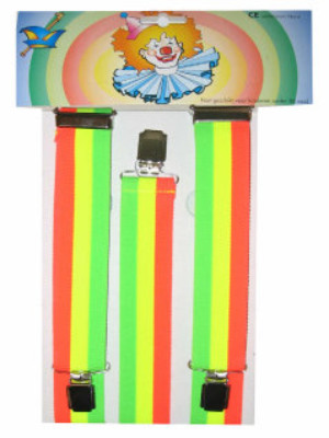 Bretel fluor rainbow-0