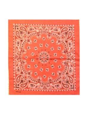 Bandana / zakdoek rood mt. 50x50 cm-0