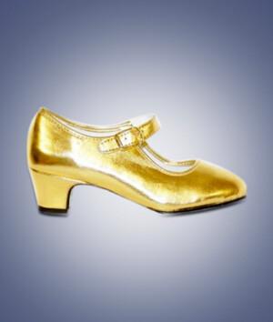 Flamengoschoentjes goud-0