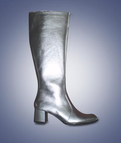 Laarzen Uni zilver-0