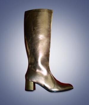 Laarzen Uni goud-0