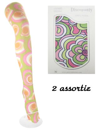 Disco panty 2 assortie mt. one size-0