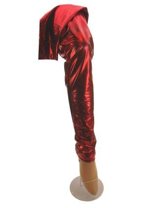 Legging metallic rood mt. S/M-0