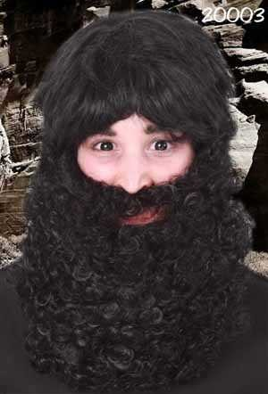 Maxi baard zwart-0
