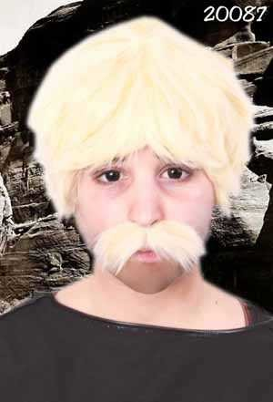 Snor Bob blond-0