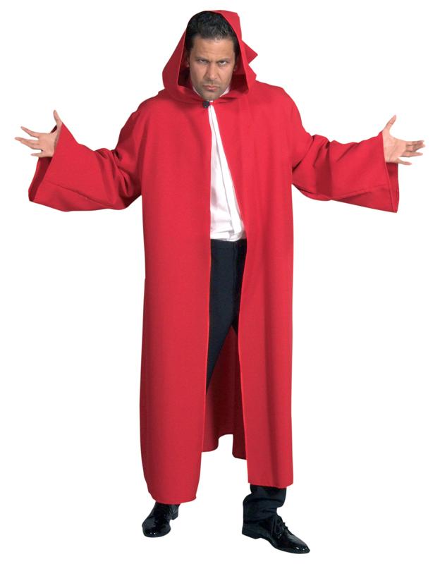 Venetie mantel rood-0