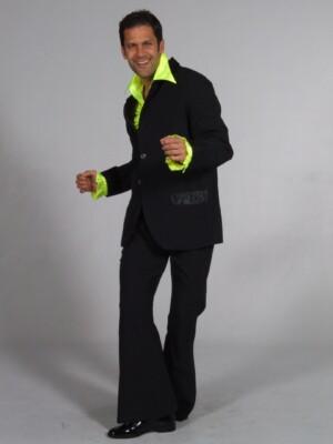 70s kostuum zwart-0