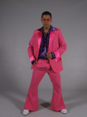 70s kostuum pink-0