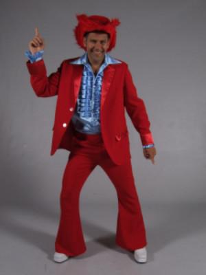 70s kostuum rood-0