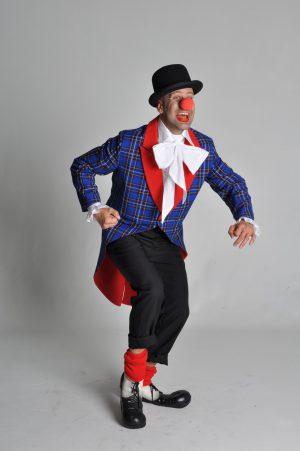 Clownsjas ruiten blauw-0