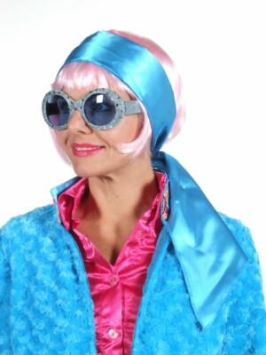 Sjaal turquoise-0