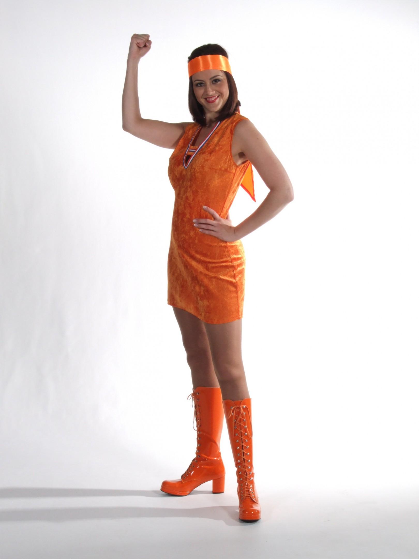 Sjaal oranje-0