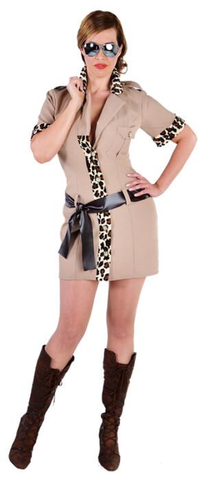 Safari mini jurk-0