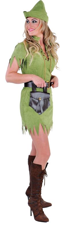 Robin meisje groen / elfje-0