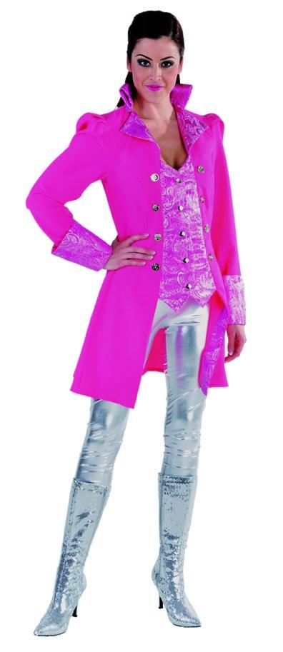 Markiezin 1-delig pink-0