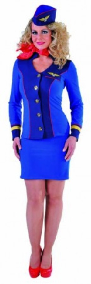 Stewardess skyblue-0