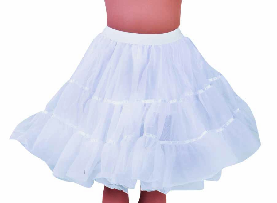 Petticoat knielengte-0