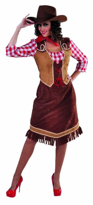 Cowgirl incl. ruiten blousje-0