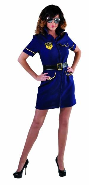 Politie meisje, marine-0