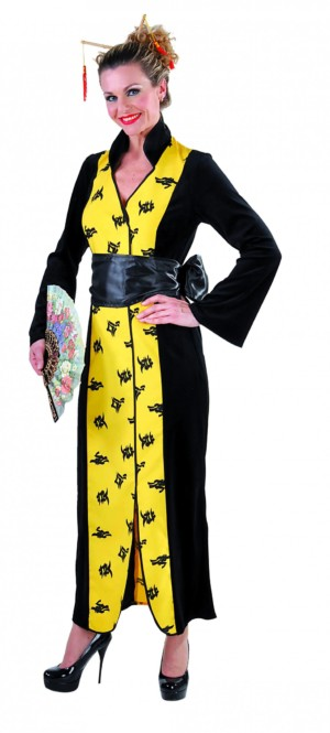 Chinese kimono, lang-0