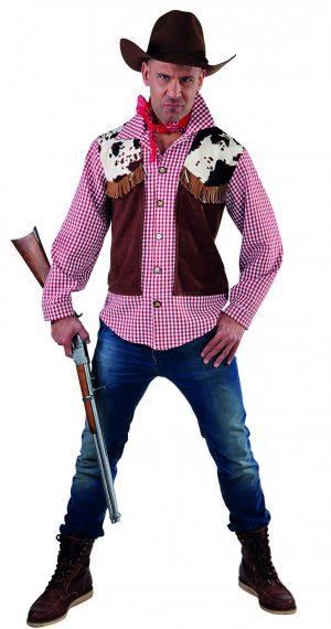 Cowboyhemd incl vest-0