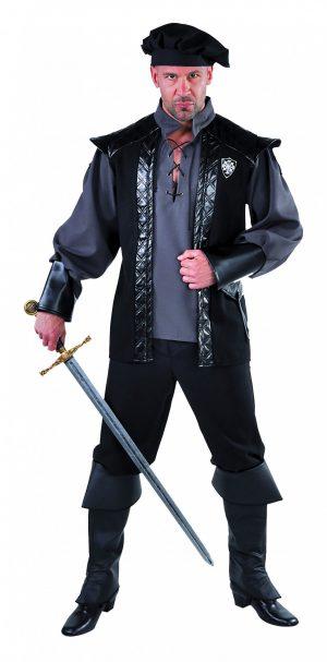 Kasteelheer zwart-0