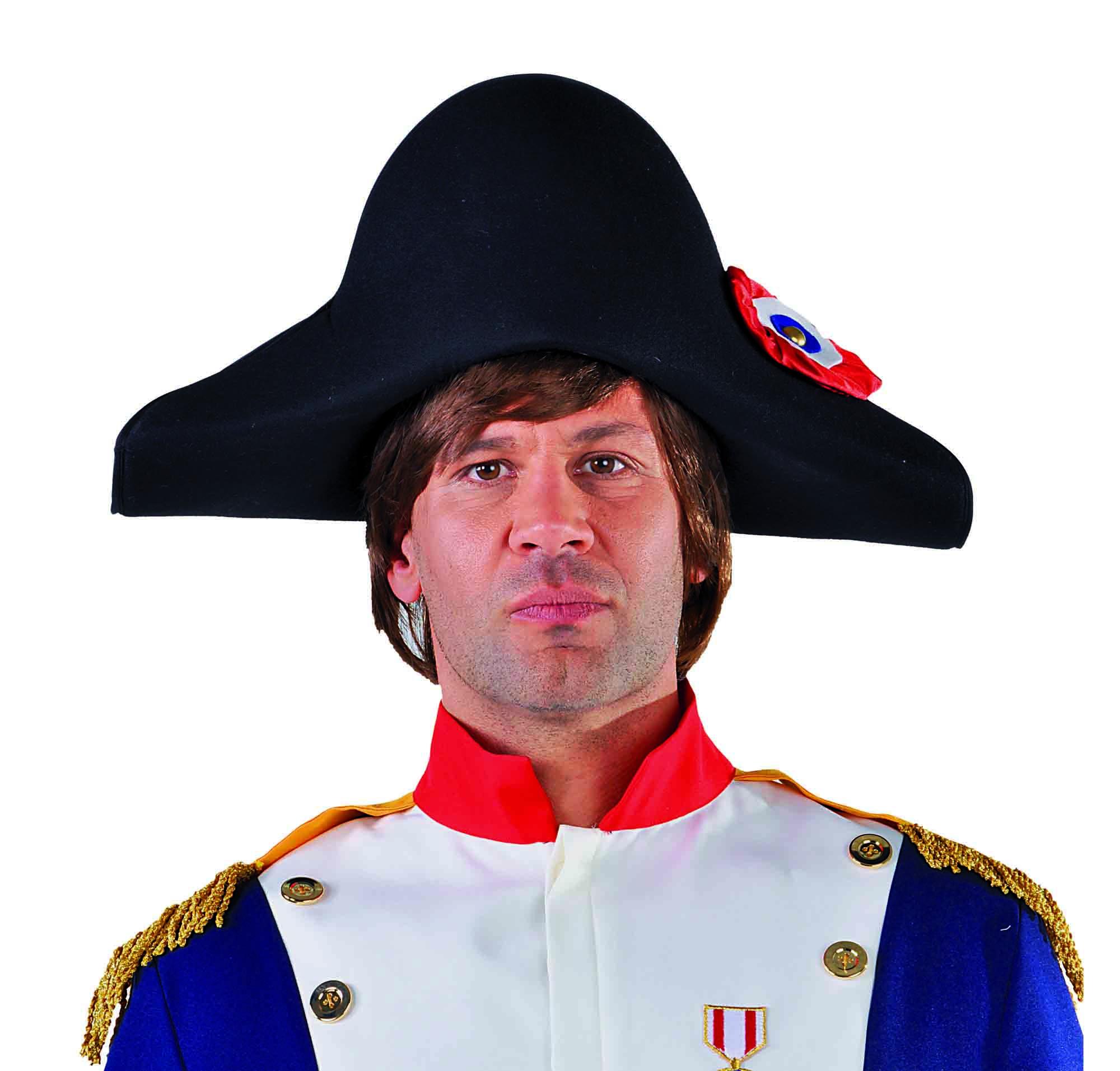 Napoleonhoed met rozet-0