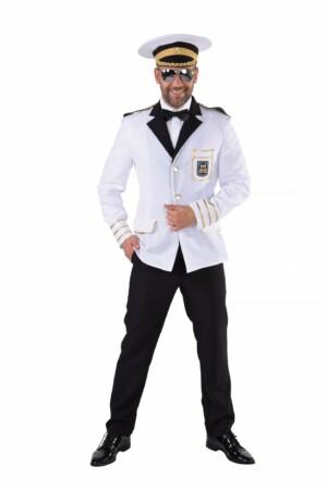 Colbert kapitein wit/goud-0