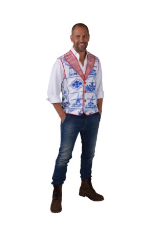 Vest delfsblauw-0
