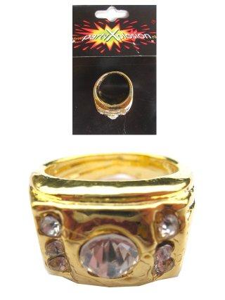 Pooier ring goud + stenen-0