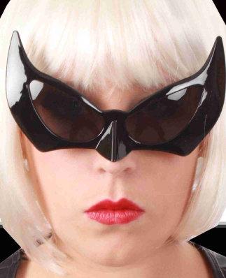 Bril zwart batman-0