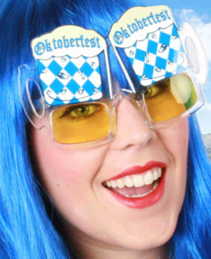 Oktoberfest bril bayern