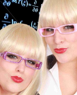 Pailetten bril 2 assortie-0