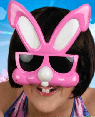 Bril bunny pink-0