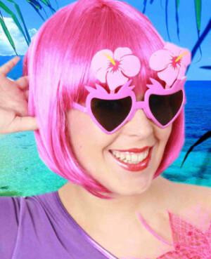 Bloemenbril pink-0
