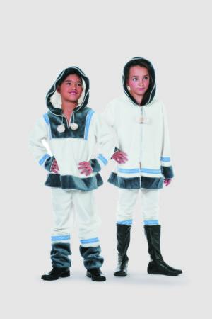 Eskimo meisje wit de luxe-0