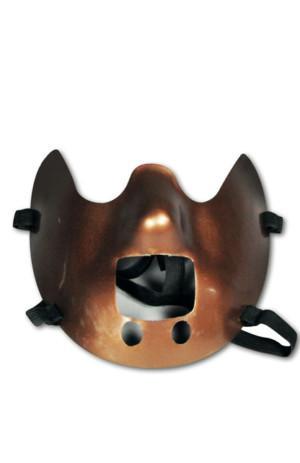 Halfmasker onderkaak Hannibal Lecter -0