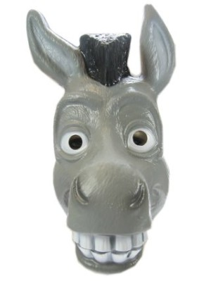 Masker ezel plastic-0