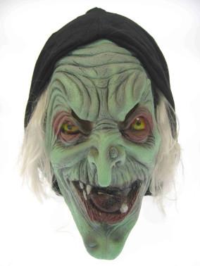 Masker heks+hoed+haar-0
