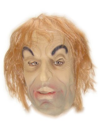Rubber masker opa frons pietje mt. 2005-0