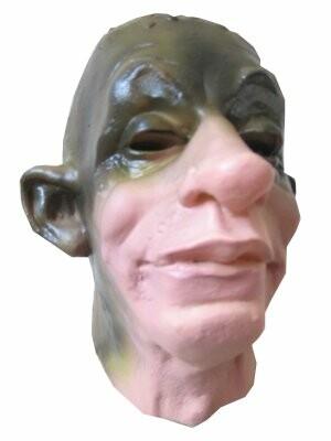 Masker latex groene engerd-0