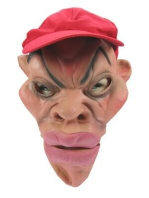 Masker rubber + pet kale chinees + dikke lippen-0