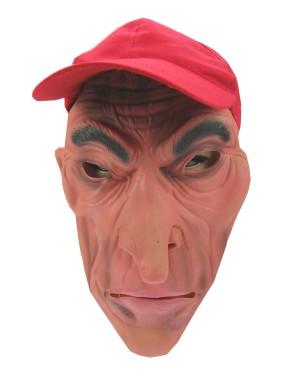 Masker rubber + pet gerimpelde man + lange neus-0
