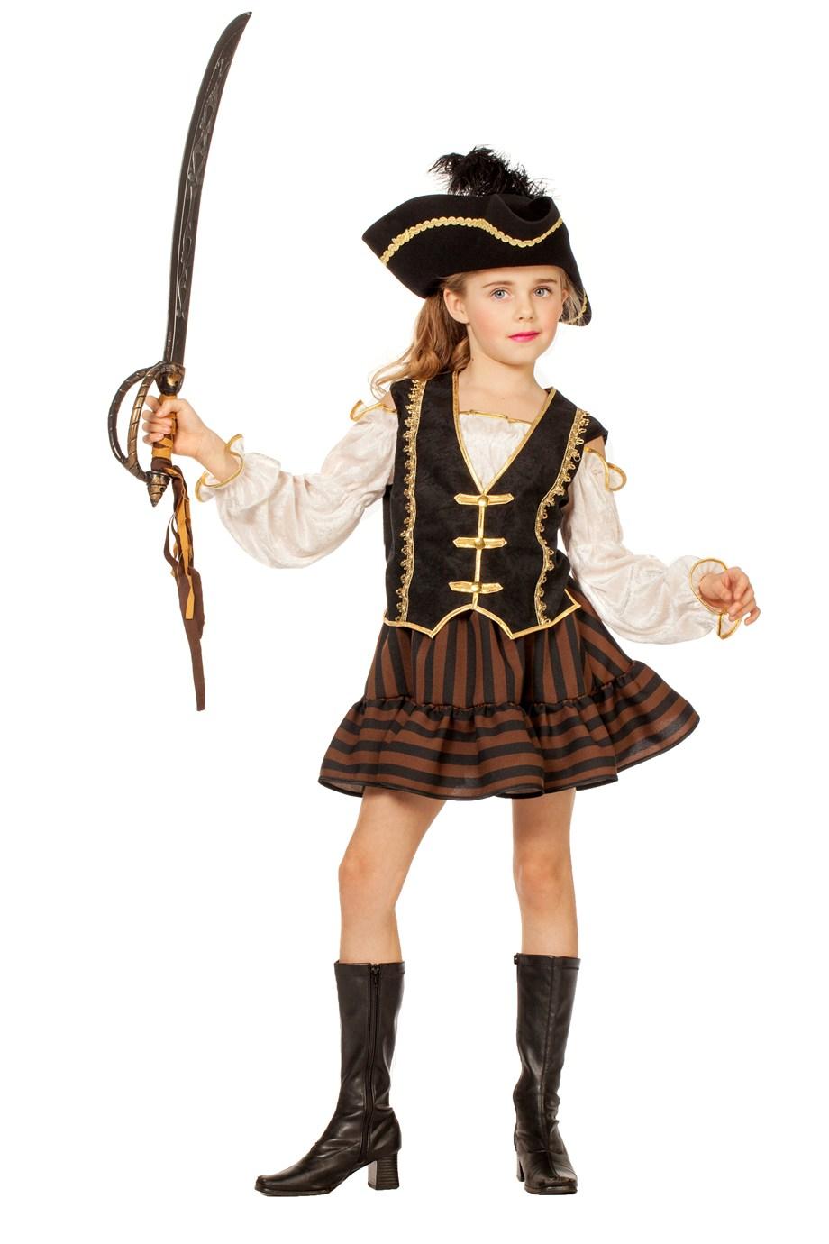 Pirat bruin meisje-0