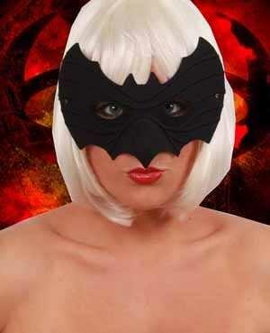 Oogmasker zwart batman-0