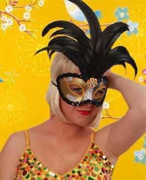 Oogmasker venetiaans de luxe-0