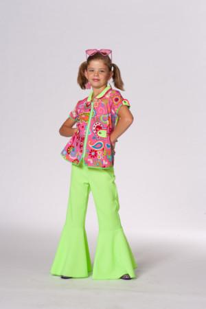 Hippie blouse rose meisje-0