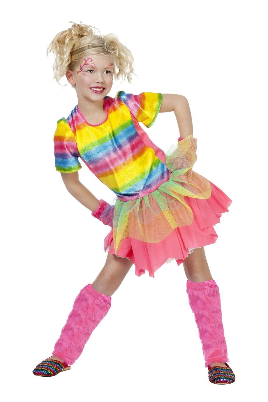 Regenboog meisje Rainbow girl-0