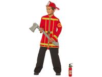 Brandweer jongen jas-0
