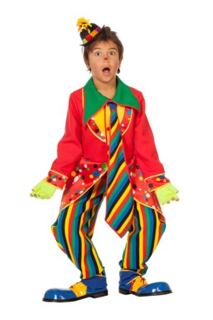 Clown jongen-0
